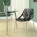 Sequoia Black Contemporary Dining Chair