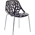 Sequoia Black Modern Dining Chair