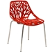 Sequoia Red Modern Dining Chair