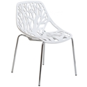 Sequoia White Modern Dining Chair