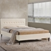Seymour Ivory Contemporary Platform Bed