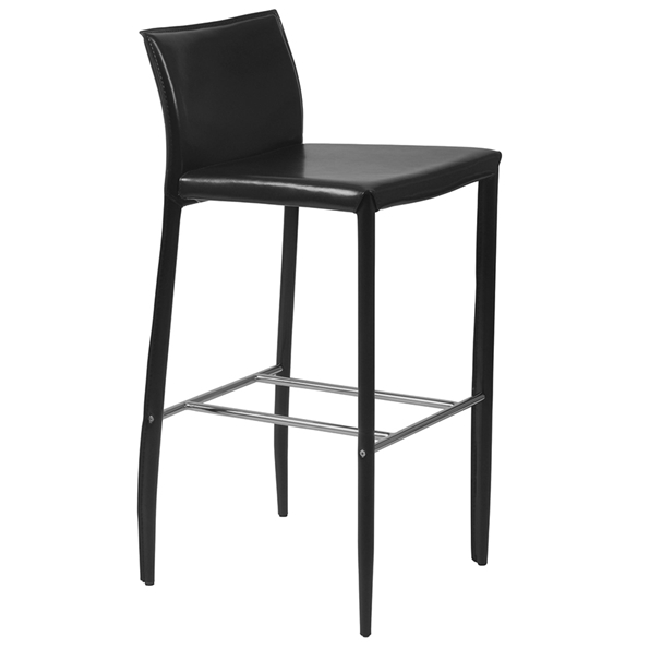 Shelton Black Bar Stool