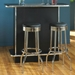 Black Soda Fountain Retro Diner Stools