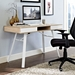 Solstice Contemporary Oak Desk