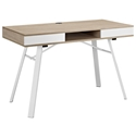 Solstice Modern Oak Desk