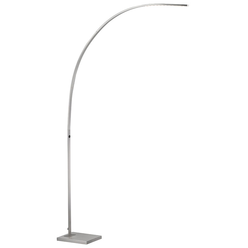 Modern floor lamps soni led arc floor lamp eurway call to order soni modern arc led floor lamp aloadofball Choice Image