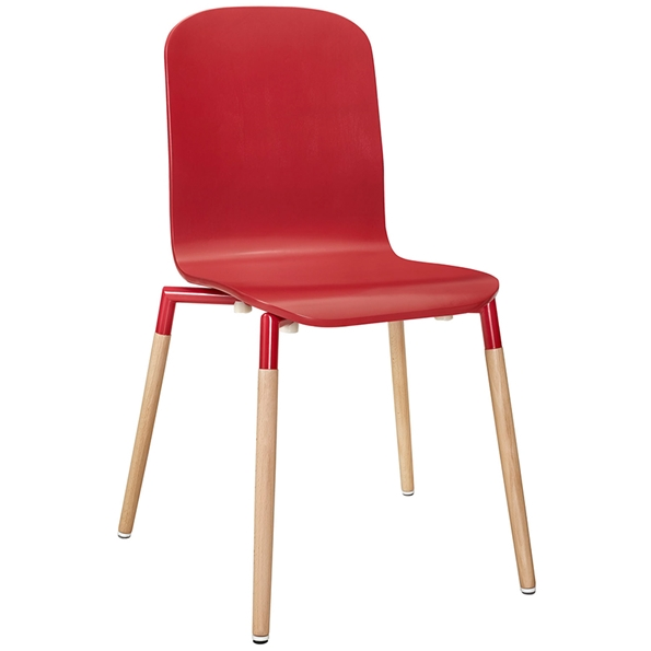 Spain Red Modern Dining Chair