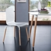 Spain Contemporary White Dining Chair