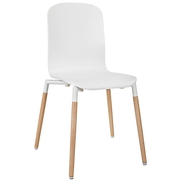 Spain White Modern Dining Chair