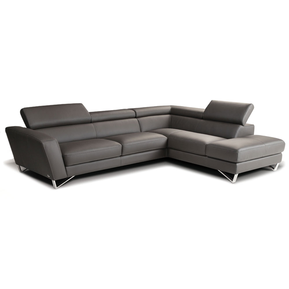 Sparta Leather Sectional Sofa