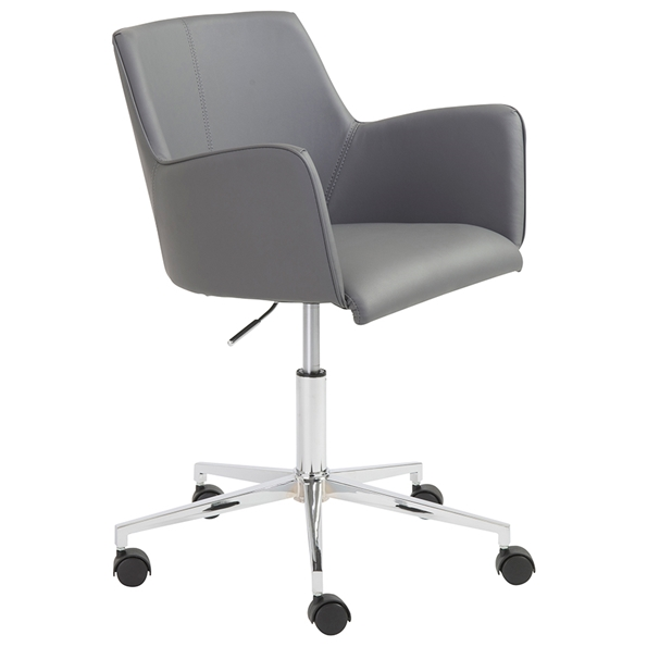 Summit Modern Gray Office Chair