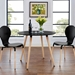 Tadley Black Contemporary Dining Table