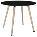 Tadley Black Modern Dining Table