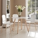 Tadley White Contemporary Dining Table