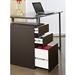 Talia Modern Desk with File - Drawer Detail