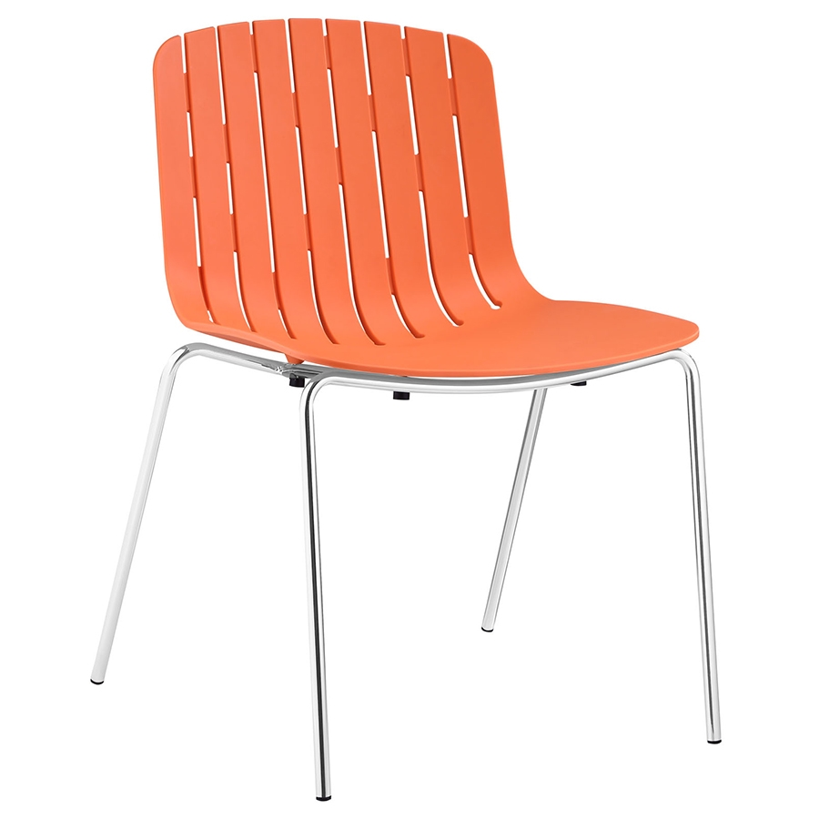 Taurus Modern Orange Dining Chair Eurway Furniture