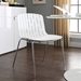 Taurus Contemporary White Dining Chair