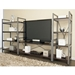 Thomas Wide and Narrow Bookcase plus TV Stand