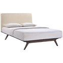Toronto Beige Modern Queen Bed