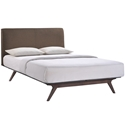 Toronto Brown Modern Queen Bed