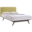 Toronto Green Modern Queen Bed