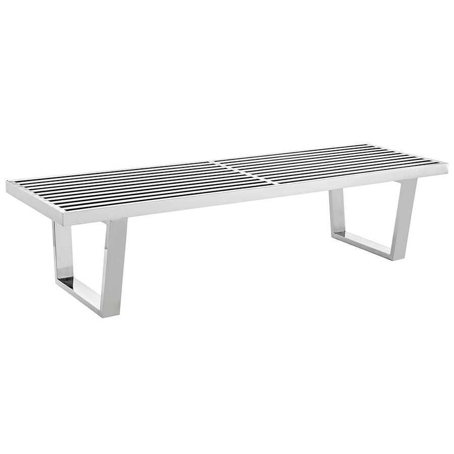 Vector 60 Modern Stainless Steel Bench Eurway Modern