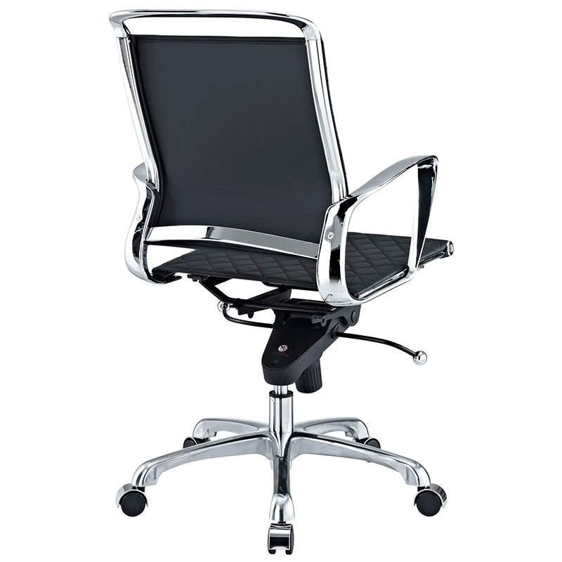 Vincent Modern Low Back Office Chair - Back View
