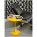 Warner Modern Side Table in Yellow