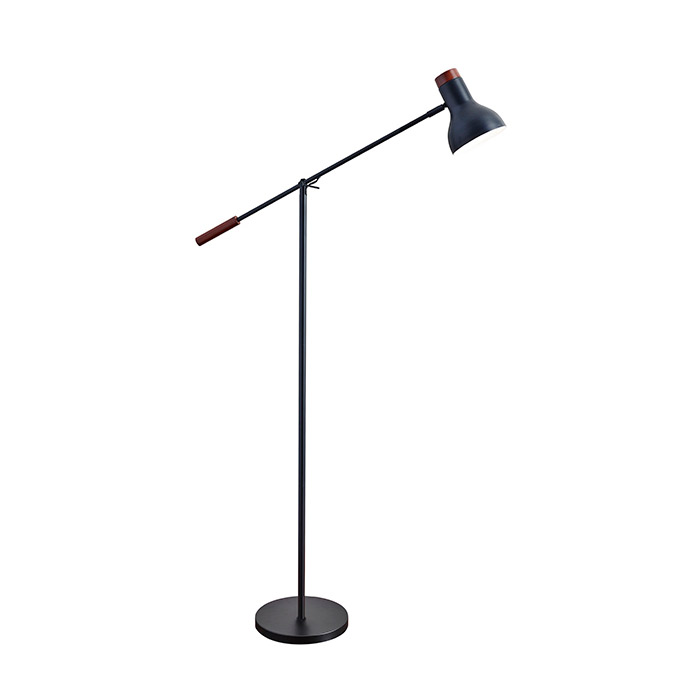 Wilson modern matte black floor lamp eurway furniture call to order wilson matte black modern floor lamp aloadofball Choice Image