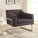 Shaw Contemporary Lounge Chair in Grey