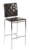 Carter Modern Counter Stool in Black