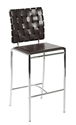 Carina Modern Counter Stool in Black