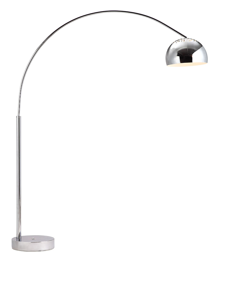 droplet arc floor lamp