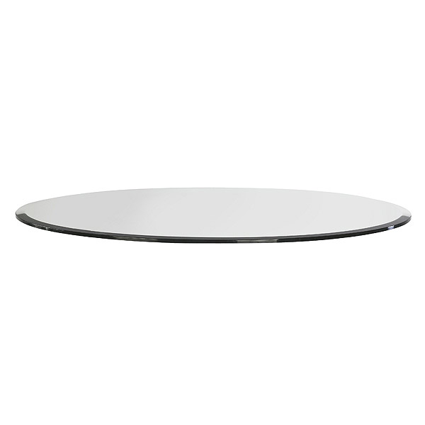 Round Clear Glass Table Top