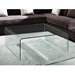 Abbott Square Glass Coffee Table
