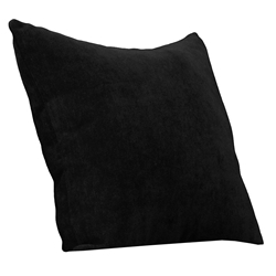Alex Black Contemporary Decorative Pillow