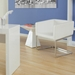 Taylor Modern White Side Table