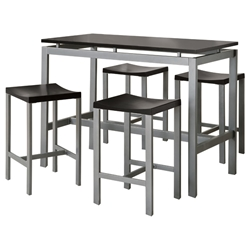 athens counter table and stool set