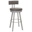 Barry Bar Stool in Platina and Anis by Amisco
