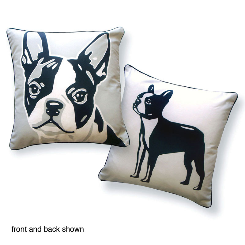 pillow terrier cover cute shack products boston