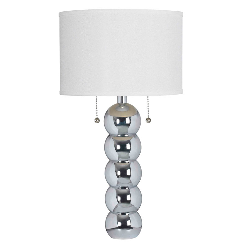 Bradley Chrome Table Lamp