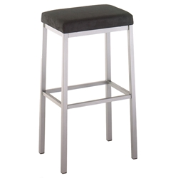 Bradley Bar Stool - Titanium / Onyx by Amisco