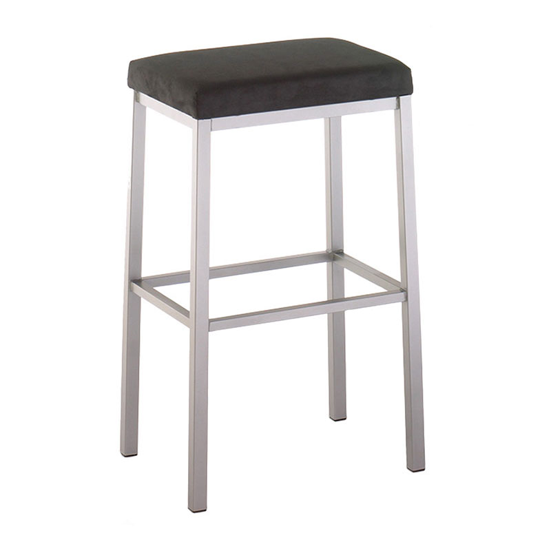 Braxton Counter Stool - Titanium / Onyx