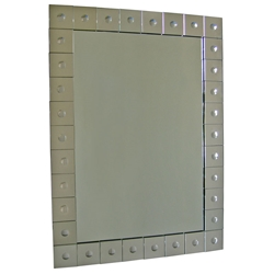 bubbles contemporary mirror