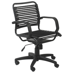 Bravo Mid Back Flat Bungie Office Chair