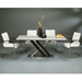 Charlie Modern Wenge Dining Table + August Chairs