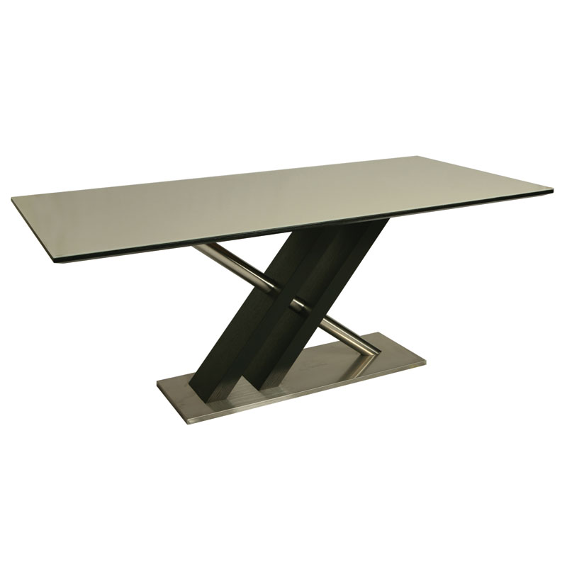 modern dining tables charlie wenge dining table eurway. Black Bedroom Furniture Sets. Home Design Ideas