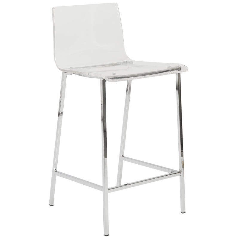 Genial Call To Order · Chandler Acrylic Counter Stool