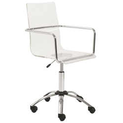 Chandler Acrylic Office Chair