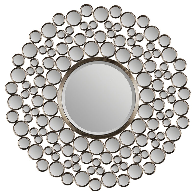 circles contemporary mirror
